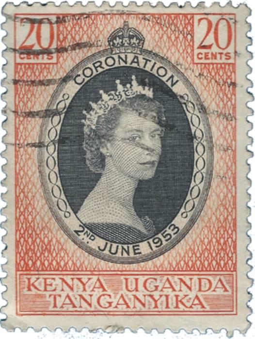 Queen Elizabeth II 1953 Omnibus Stamp Series Album Pages