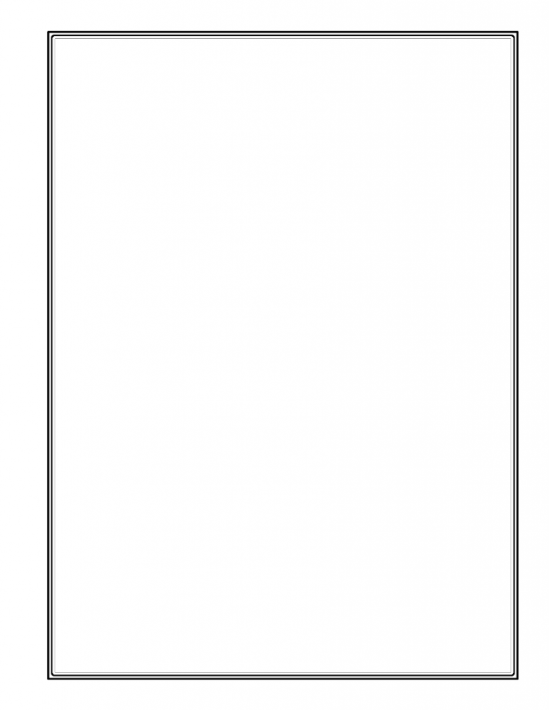 Simple Blank Page for Your Stamp Album